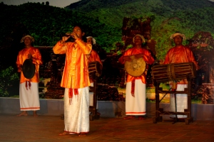 Musicians performed the traditional Champa song
